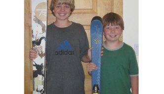 skis junior