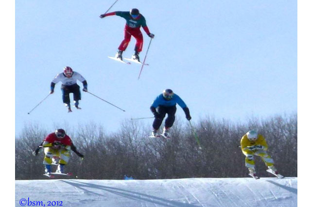 skier x x games