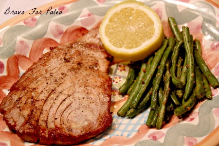 Paleo tuna steak recipe for How to cook tuna fish