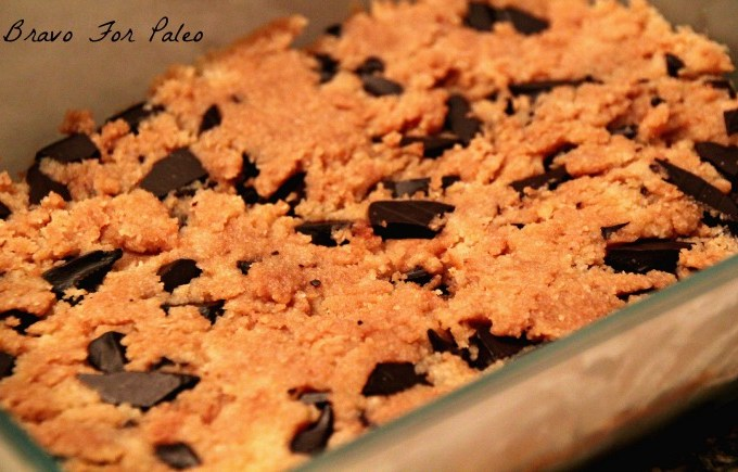 paleo cookie dough bar