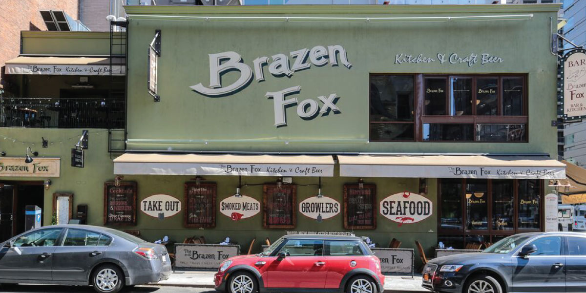 Brazen Fox | Brazen Fox Kitchen & Craft Beer