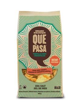 Phantasy Organic Products Que Pasa Thin Crispy Tortilla Chips Crispy Tortilla Chips Taco Salad Tortilla Chips San Francisco Organic Products Que Pasa Thin