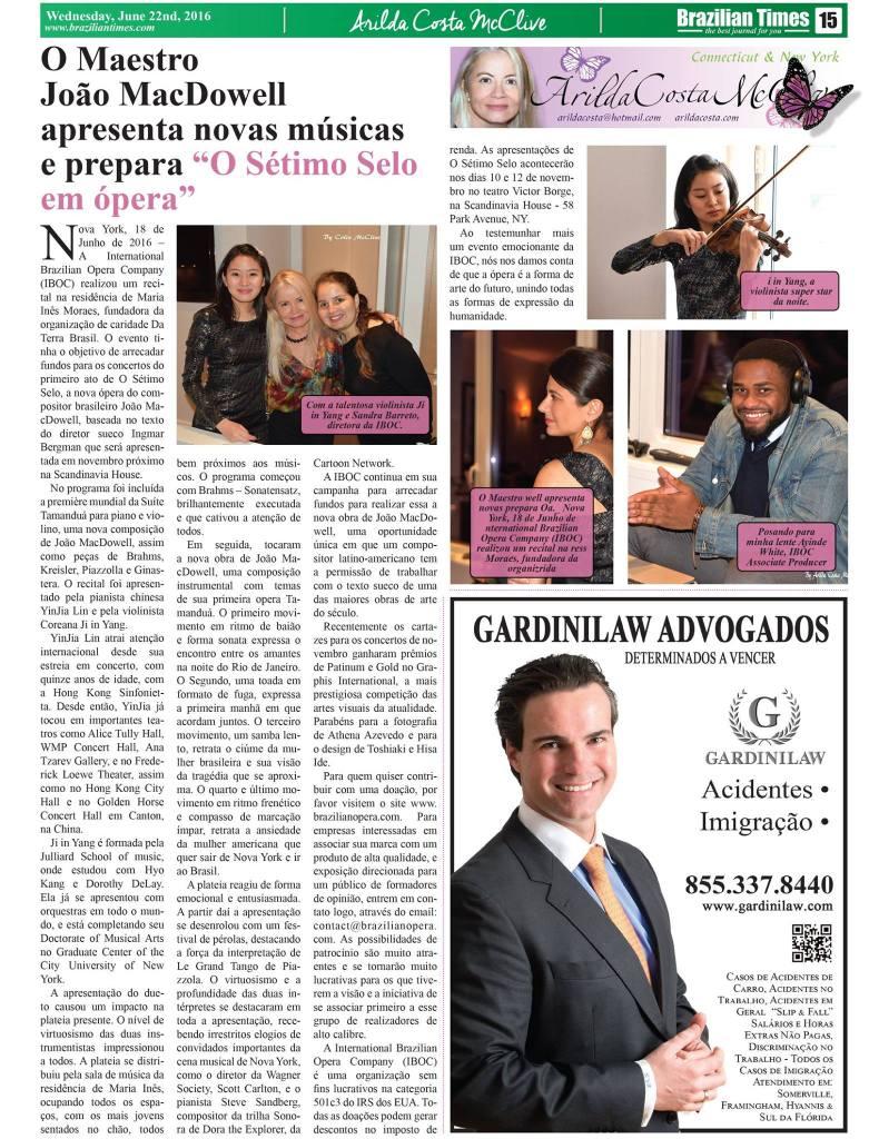 Brazilian Times June 19 2016