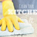 clean your kitchen with salt