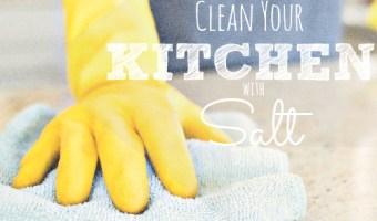 Get Your Kitchen Sparkling Clean With Salt