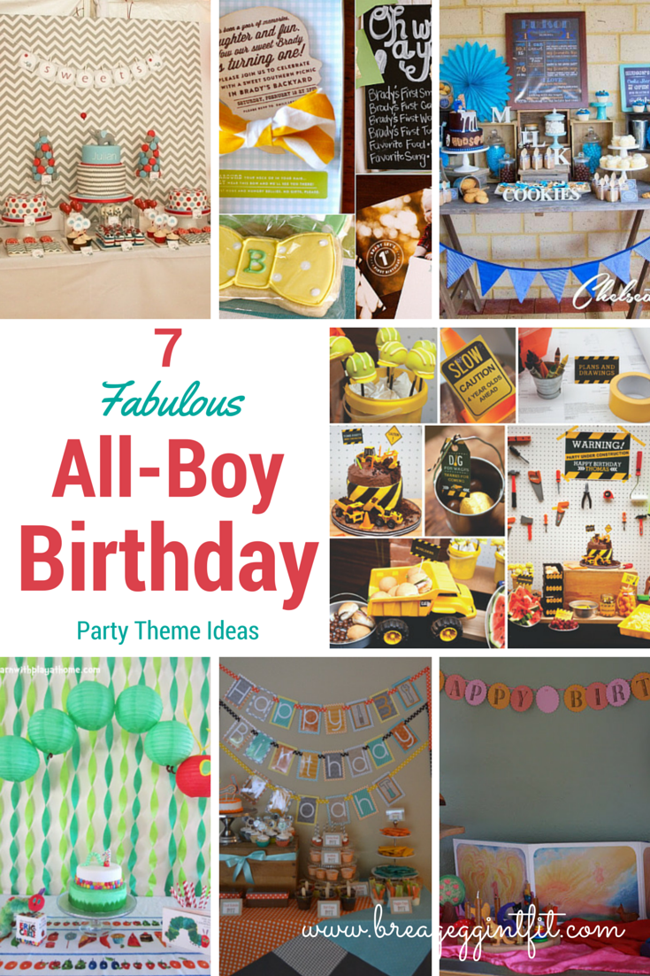 The Baby Is Turning 1! 7 Fabulous All-Boy 1st Birthday Party Ideas