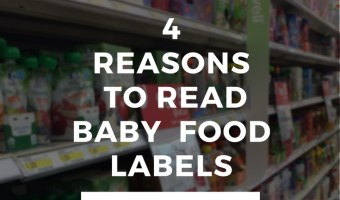 4 Reasons You Need to Read Food Labels
