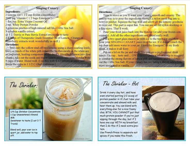 Trim Healthy Mama Recipes: All Day Sippers