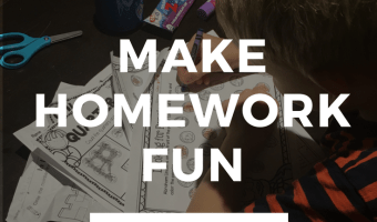 4 Tips to Get Homework Done Quickly So Your Kids Can Play