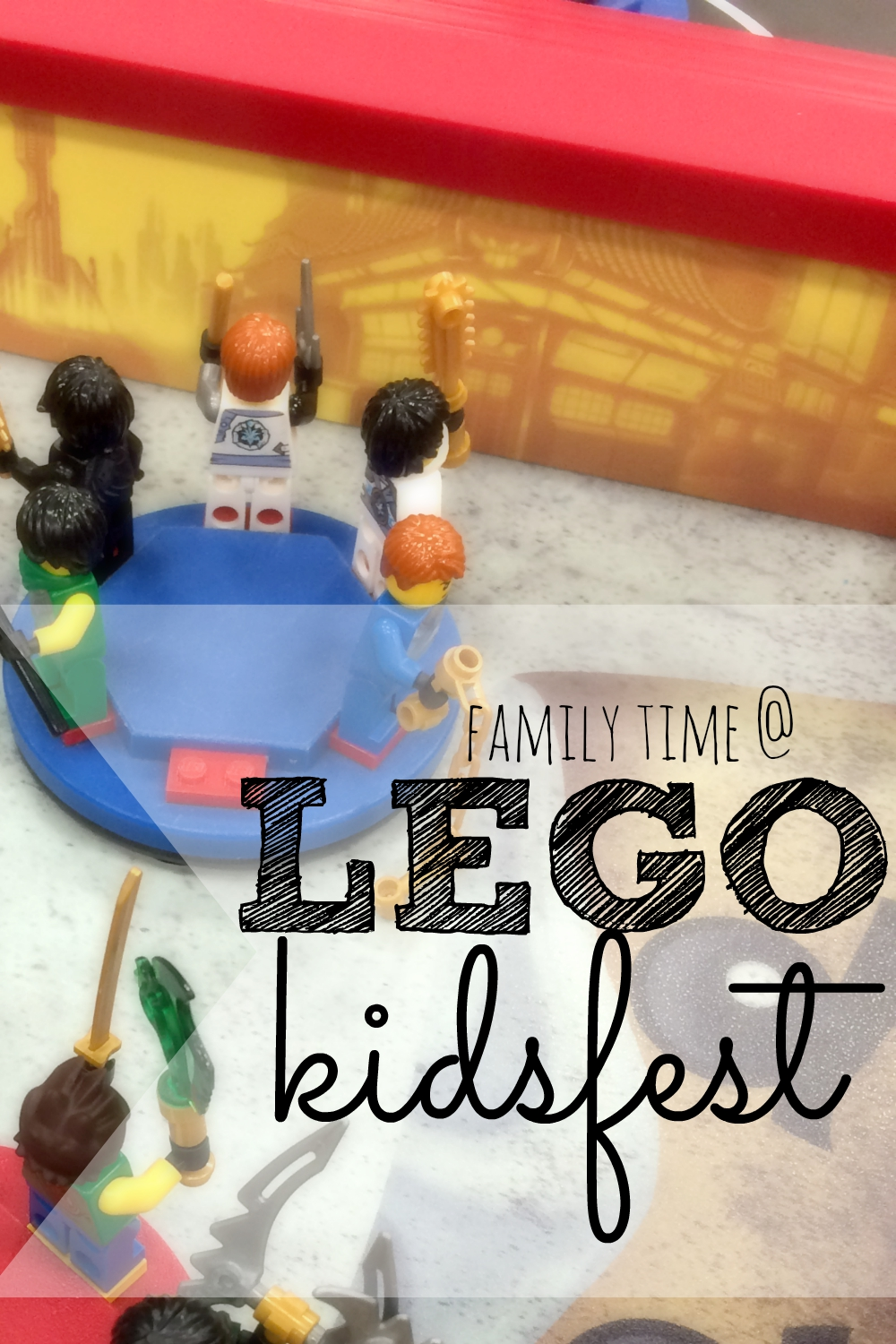 If you have the chance, you should definitely check out LEGO Kidsfest!