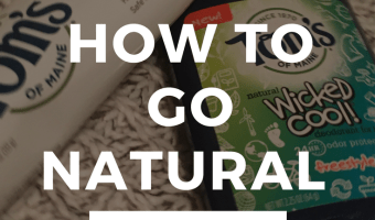 4 Easy Steps to Transition to Natural Products