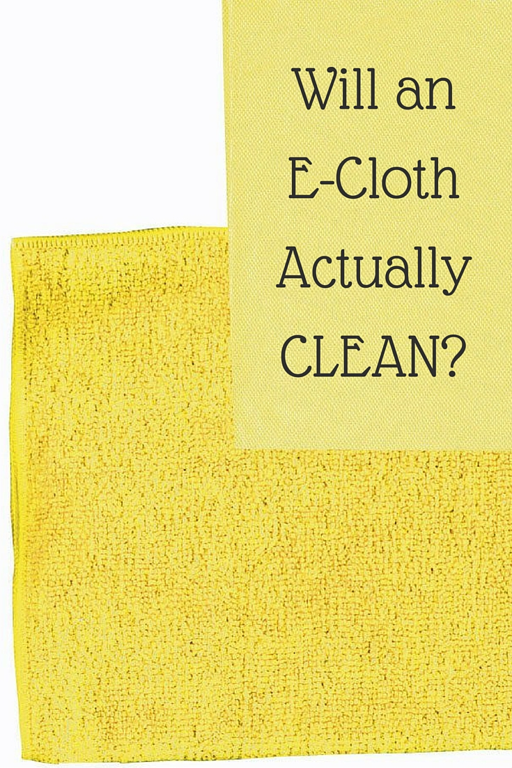 Will an E-Cloth Actually Clean?