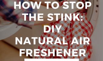 Boys STINK: Natural DIY Air Freshener