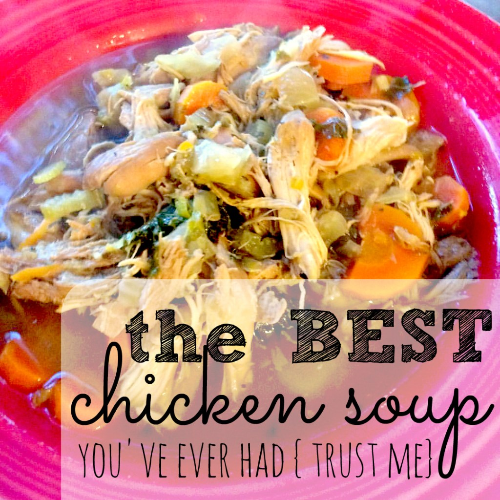 It's that time of year again! Are you a chicken noodle soup fan? You should really try this noodle-free version!