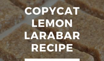 Copycat Lemon Larabar Recipe
