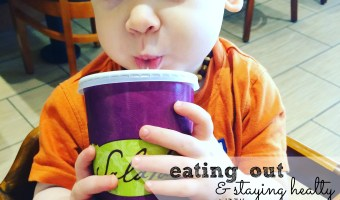 How to Stay Healthy Eating Out…With Kids