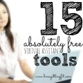 Are you overwhelmed with trying to get your virtual assistant business off the ground? How are you going to bill clients? Or keep time? You need these free virtual assistant tools. They rock, and you can thank me later.