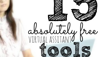 15 FREE Virtual Assistant Tools You Need To Be Using