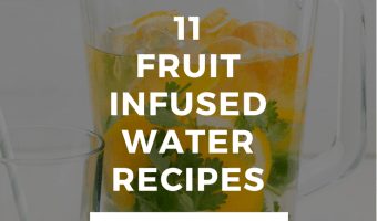 16 Ways to Drink More Water {Fruit Infused Water}