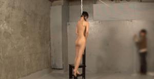 ガチの首吊りプレイ動画。窒息プレイの最上級首吊りを本気で首つってみた