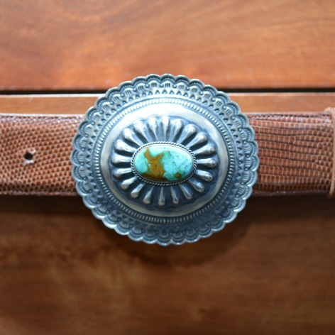 Oval Turquoise Buckle