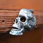 Skull Buckle Sterling Silver