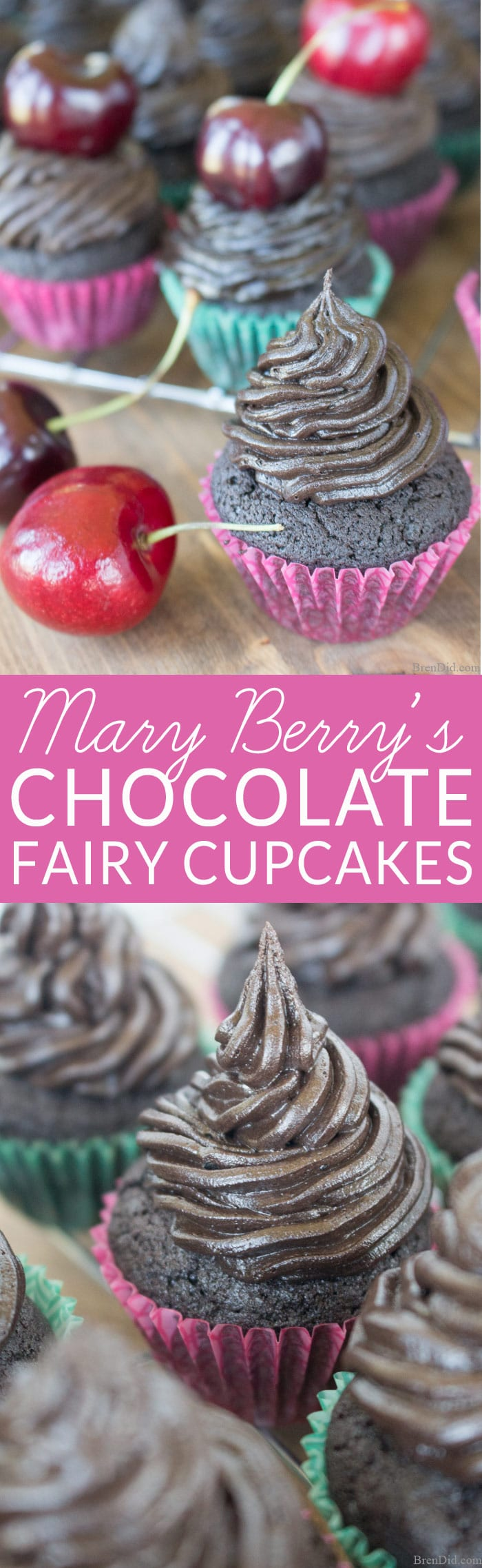 Chocolate Fairy Cakes Mary Berry