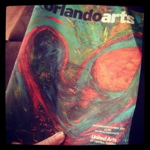 Nov/Dec 2011 Cover of Orlando Arts