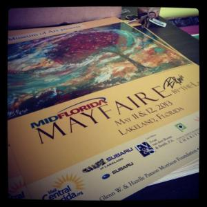 Mayfaire by Polk Museum Poster Artist
