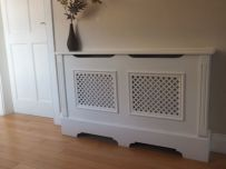 customon built radiator cabinet