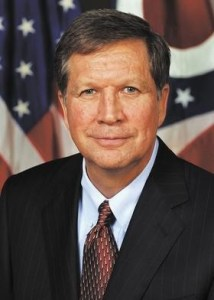 Ohio's Republican Governor, John Kasich 