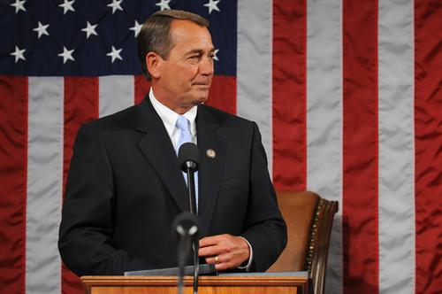 Speaker John Boehner (R-OH)