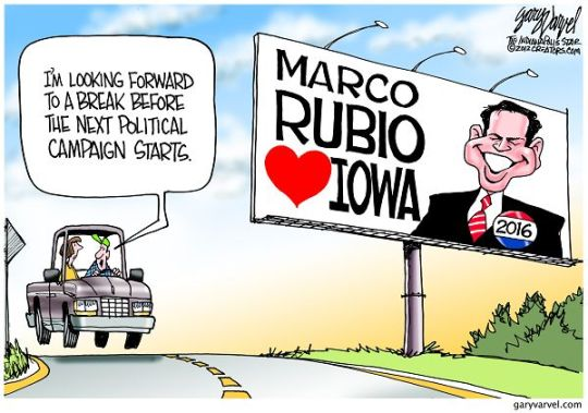 marco rubio iowa 2016 cartoon