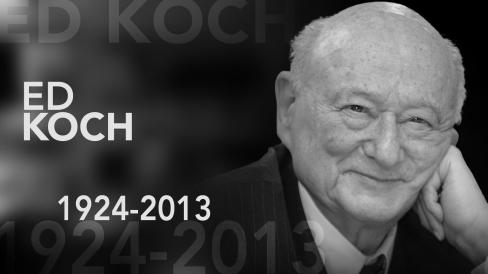 ed koch black and white