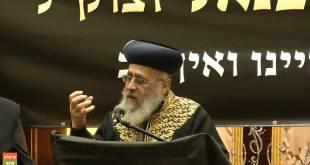 """הראשון לציון הרב יצחק יוסף: """"חייבים להמשיך את דרכו של מוהרא""""ש"""""""