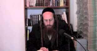 Li'kutay Halachot-The holiness of the Land of Israel Pt2 4-2-2014