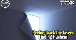 Peeling back the layers | Finding Hashem
