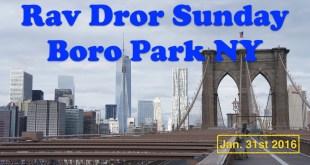 Sunday | Boro Park NY | Jan 31st 2016