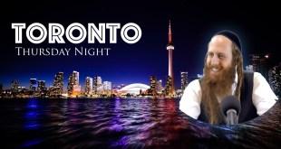 Rav Dror Toronto Tour | Lecture #1 | Thursday Night