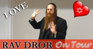Rav Dror @ Kehilas Yeshorim | Exciting Jewish Insights into Love