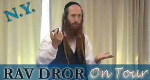 Rav Dror on Tour | Bringing A Peaceful Redemption with our SOULS