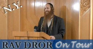 Rav Dror on Tour – New York 8/10/16 | Judaism is Not a Religion, It's a Relationship