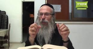 הרב אליהו גודלבסקי – בזכות רבי נחמן – התשעו – פרשת כי תצא – שיעור מלא