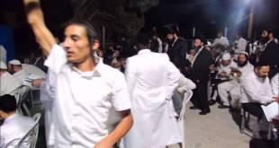 """סעודה רביעית וסליחות בציונו בקדוש של מוהרא""""ש זי""""ע"""