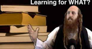 What is the Purpose of Torah Learning?