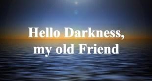 Hello Darkness My Old Friend (Manhattan NY)