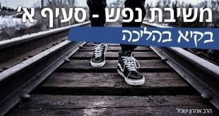שיעור משיבת נפש סעיף א' – להיות בקיא בהליכה , עם הרב אהרון ישכיל