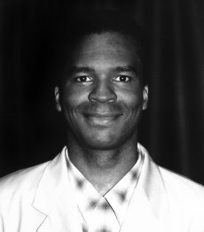 David Allen Grier at a FOX promo dinner for In Living Color.