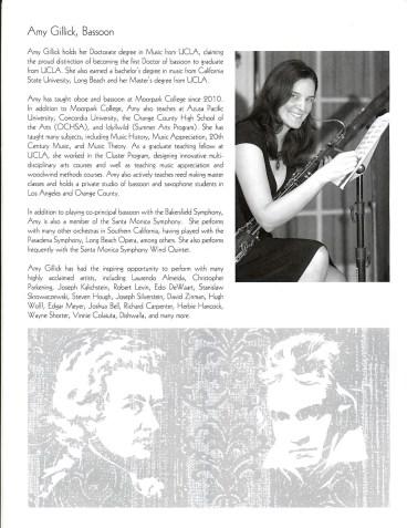 Amy Gillick Mozart Bassoon Concerto promo