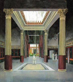 The Typical Roman Aristocratic House And Public Imitation